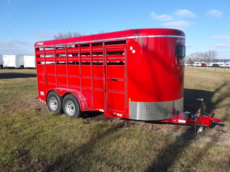 2019 Delta Livestock Stock Trailer 6x16