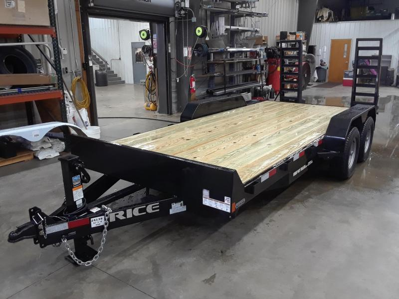 2019 Rice 18' Equipment Trailer