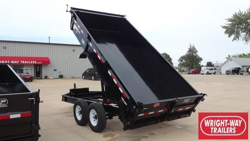 PJ TRAILERS 14' Dump Trailer Low Profile