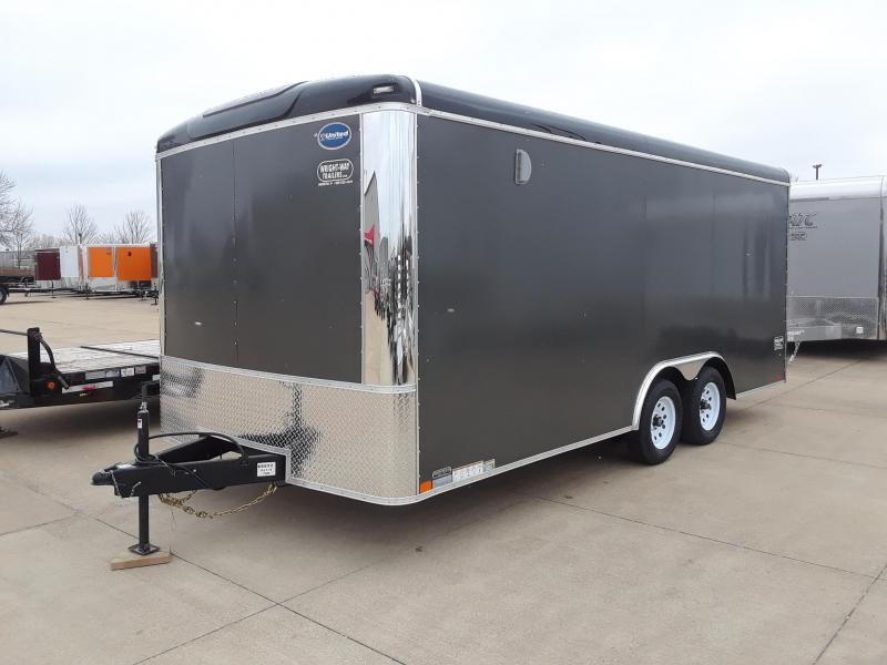 2019 United Trailers 8.5X18 Car / Racing Trailer Enclosed