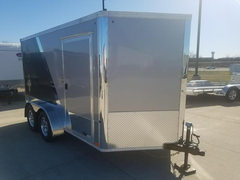 2019 United Trailers 7X12 XLMTV Motorcycle Trailer