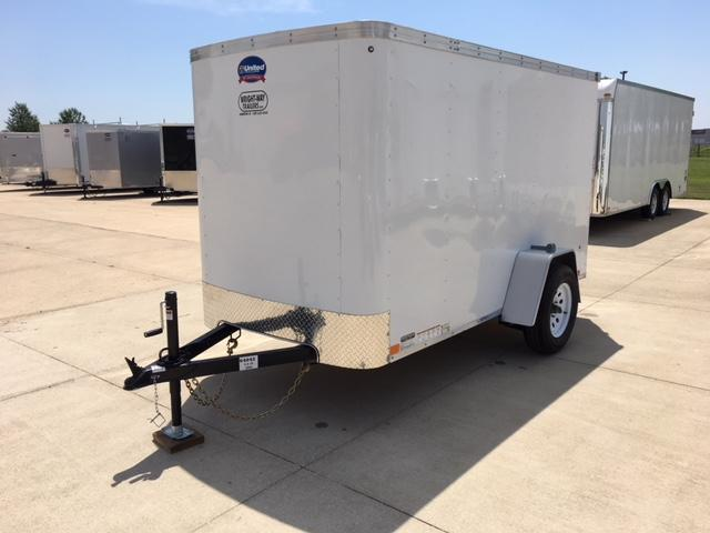 2019 United  5 x 10 XLE Enclosed Cargo Trailer