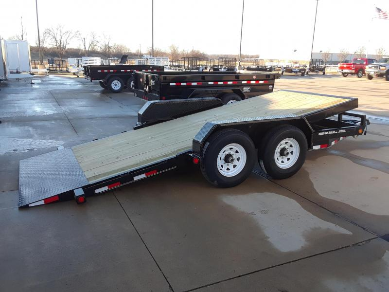 2019 PJ 16' Tilt T6162 Equipment Trailer
