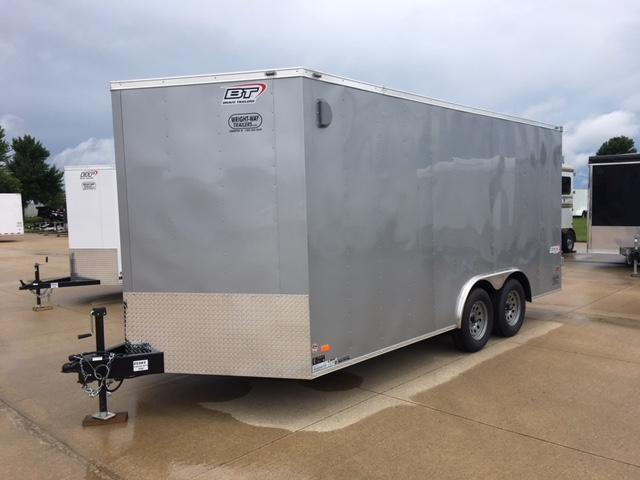 "2019 Bravo 8.5 x 16 + 30"" V-Nose Enclosed Cargo Trailer"