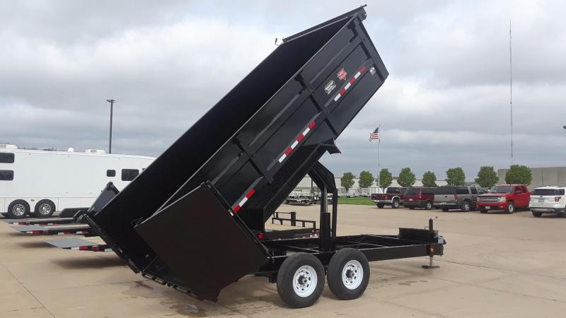 2020 PJ 16' Dump Trailer High Side