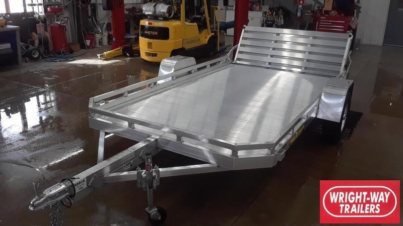 2020 Aluma 12' Aluminum Utility Trailer