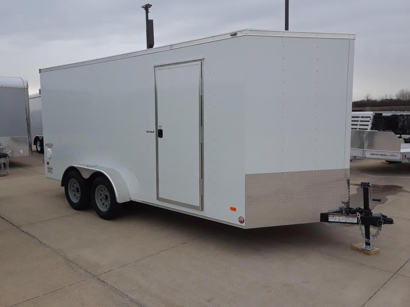 2019 Bravo Trailers 7X16 V-Nose Enclosed Cargo Trailer