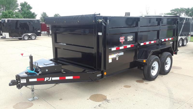 2020 PJ 14' Low Pro High Side Dump Trailer