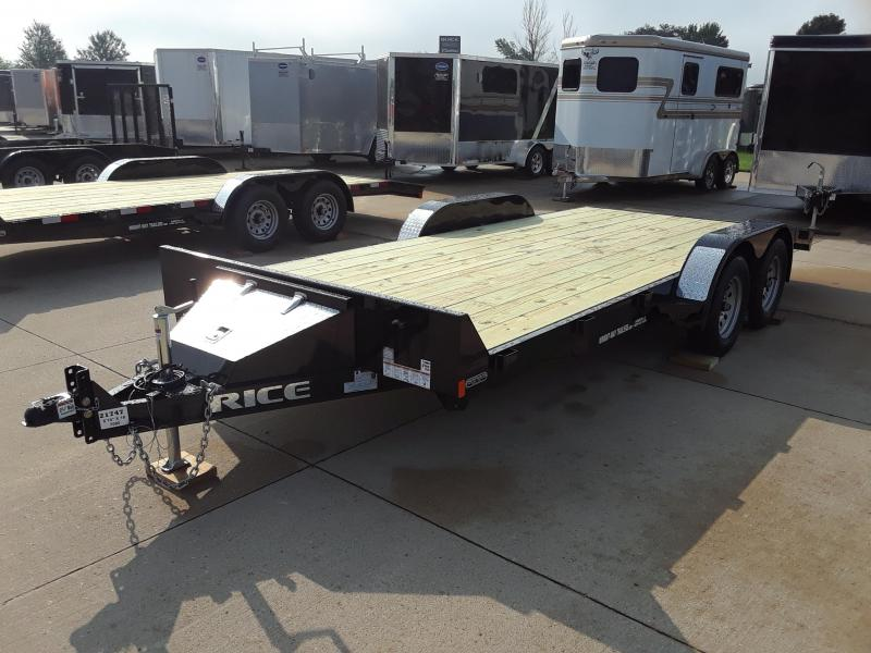2019 Rice FMCR8218 Flatbed Trailer