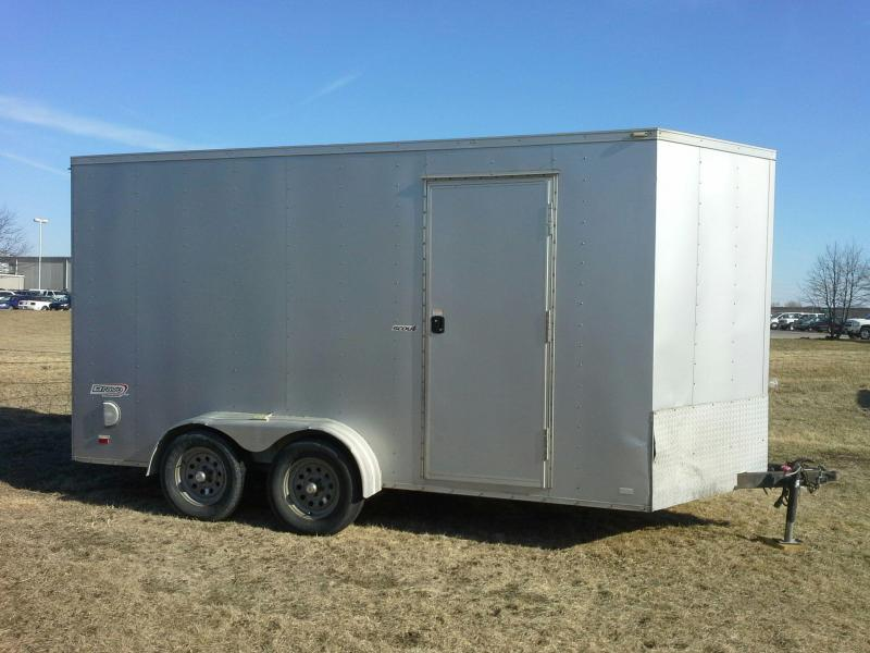 "Bravo Scout 7 x 14 + 30"" V-nose Enclosed Cargo Trailer"
