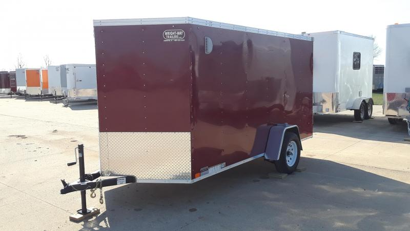 2019 United 6X12 Enclosed Cargo Trailer