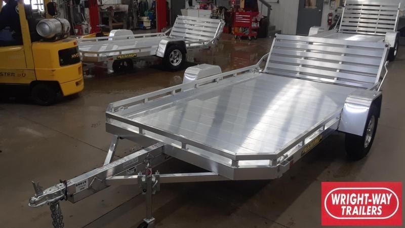 "2020 Aluma 77"" X 12' Aluminum Utility Trailer"