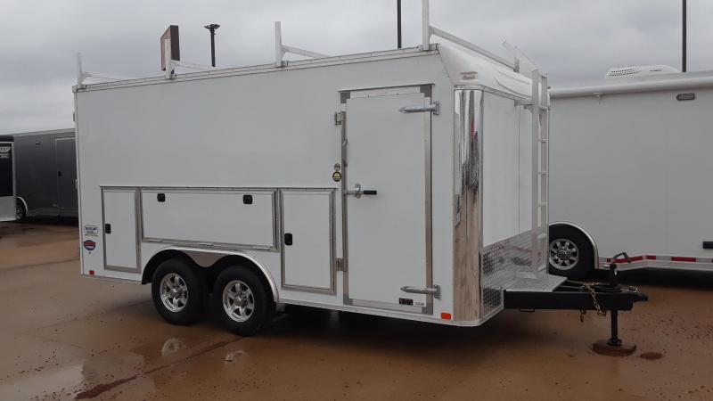 2019 United Tool Crib 8.5X16 Enclosed Cargo Trailer