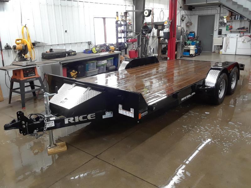 2018 Rice 18' Car / Racing Trailer