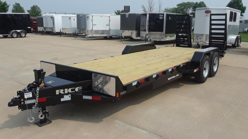2020 Rice 22' HD Equipment Trailer