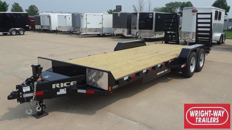 2020 Rice 22' HD Equipment Trailer