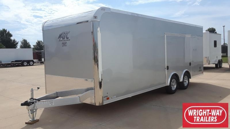 ATC 8.5X22 Escape Door Car / Racing Trailer Aluminum