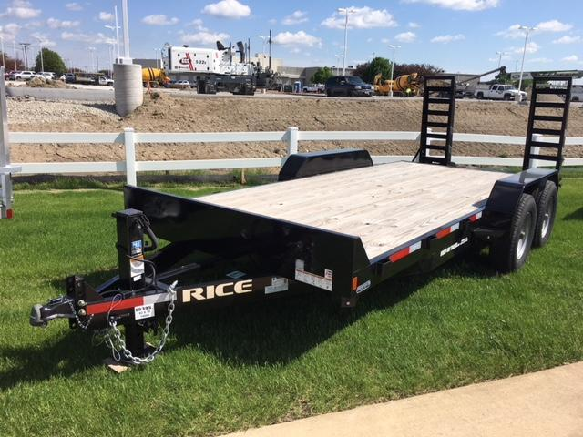 "2017 Rice 6'10"" x 18' Magnum Equipment Trailer"