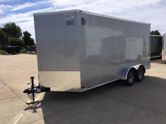 2019 Bravo  7 x 16 Enclosed Cargo Trailer