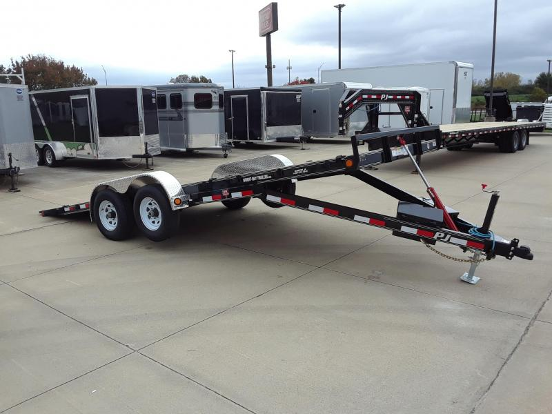 2019 PJ Trailers 20' Car / Racing Tilt Trailer