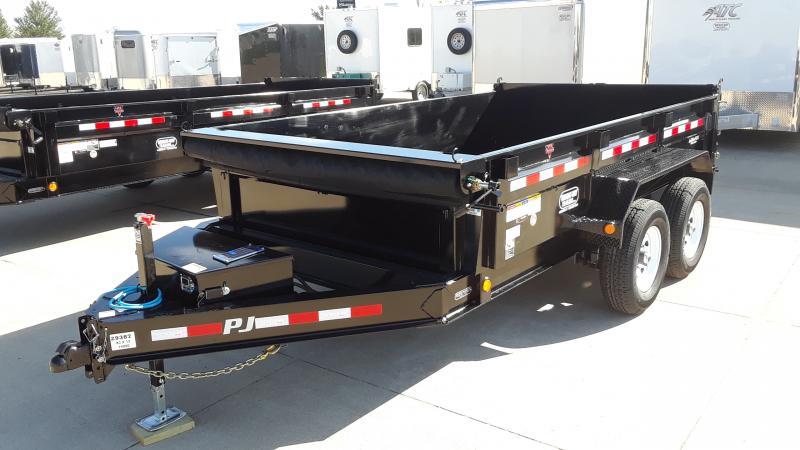 2020 PJ Trailers 83 X 12 LOW PRO DUMP Dump