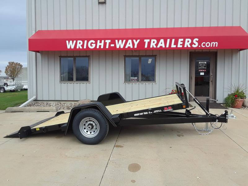 2019 B-B 6X12 Tilt Equipment Trailer