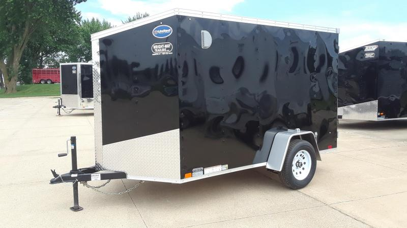 2020 United 6X10 Enclosed Cargo Trailer