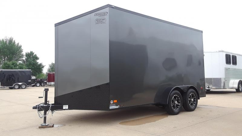 2020 Bravo 7X14 Blackout Enclosed Cargo Trailer