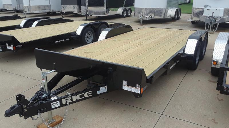 Rice 18' Car Hauler Trailer