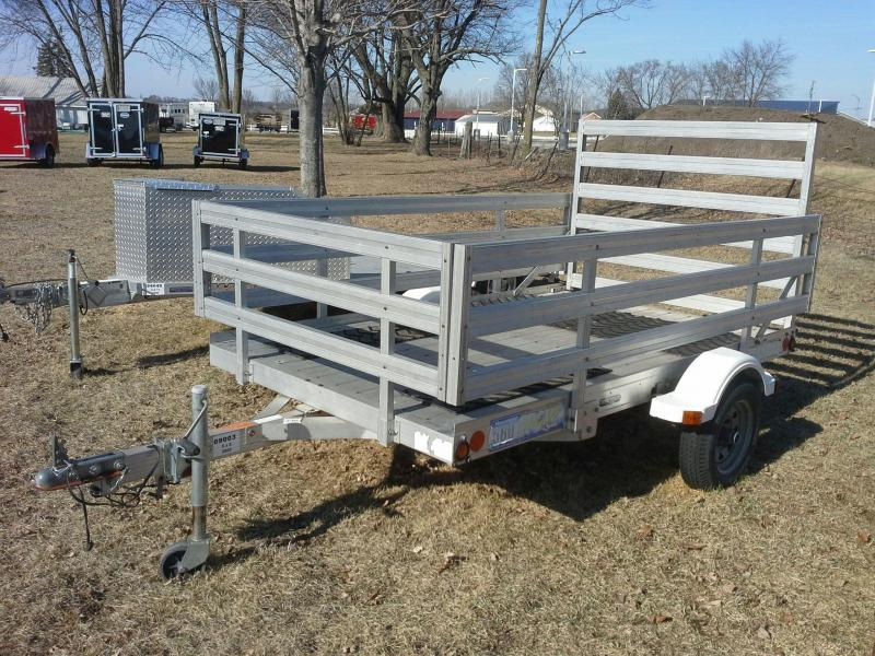 5 X 8 Tread Bed Single Axle Utility Trailer