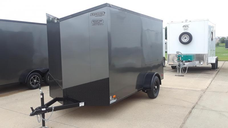 2020 Bravo 6X12 Blackout Enclosed Cargo Trailer