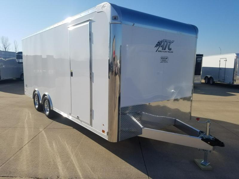 2018 ATC RAVEN 8.5X20 CAR HAULER Car / Racing Trailer