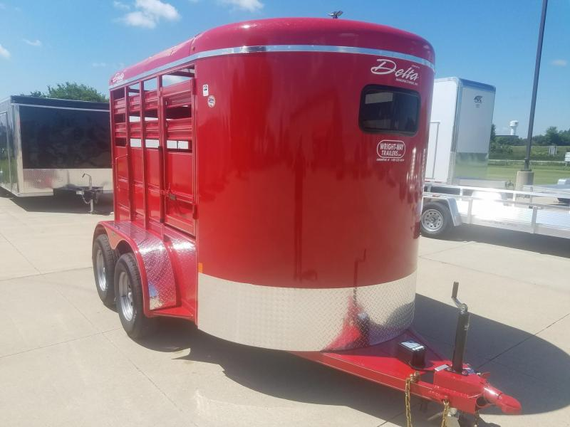 2019 Delta Manufacturing 500 series stock Livestock Trailer