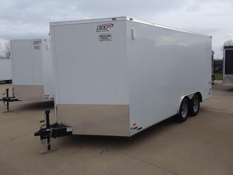 2019 Bravo Trailers 8.5X16 V-Nose Enclosed Cargo Trailer