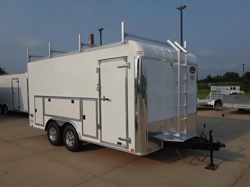 2019 United Trailers UXT-8.5TA52 Enclosed Cargo Trailer