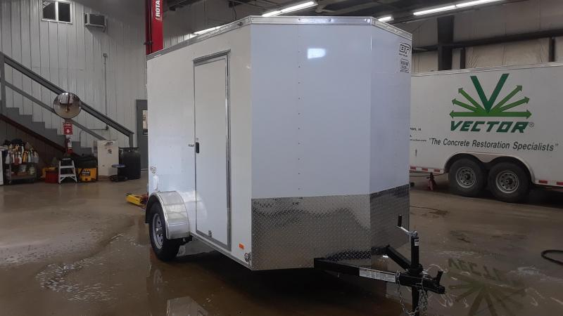 2020 Bravo 6X10 V Nose Enclosed Cargo Trailer