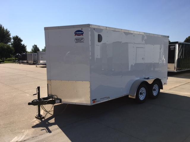 2019 United  XLV  7 x 14 Enclosed Cargo Trailer