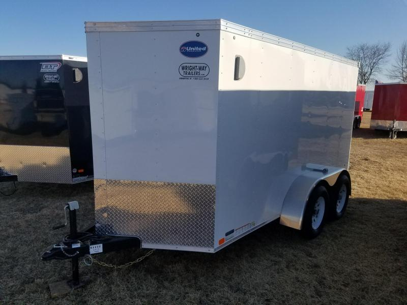 2018 United Trailers 6X12 XLV Enclosed Cargo Trailer