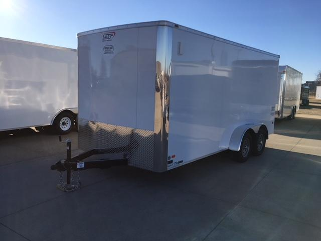 BRAVO SCOUT 7 X 16 ENCLOSED- REAR RAMP DOOR