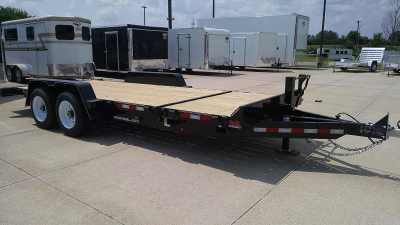 2019 B-B TBCT2016ET Equipment Trailer