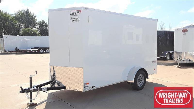 Bravo 6X12 Enclosed Cargo Trailer