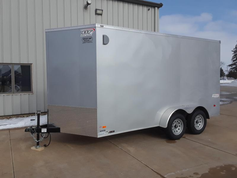 2019 Bravo 7X14 V Nose Enclosed Cargo Trailer