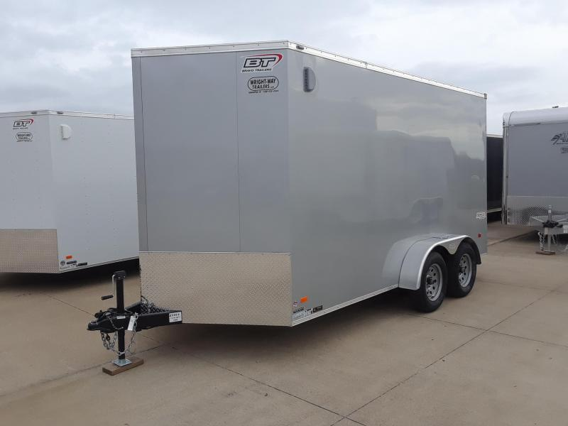 2019 Bravo 7x14 V-Nose Enclosed Cargo Trailer
