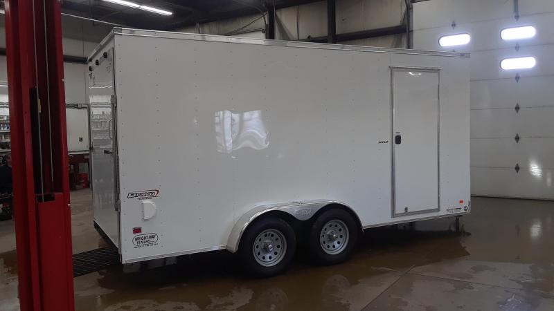 2020 Bravo 7x16 Enclosed V Nose Cargo Trailer