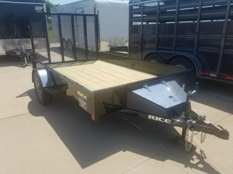 2018 Rice STEALTH 76X10 Utility Trailer
