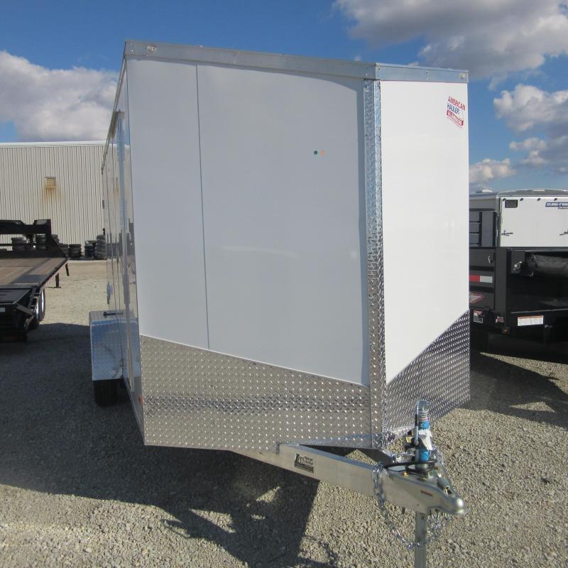 2018 American Hauler Industries 7x16 enclosed Enclosed Cargo Trailer