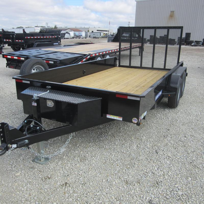 2018 Sure-Trac 7 X 14 Steel High Side 7K Tandem