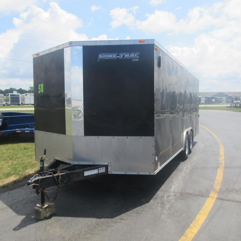 2012 Sure-Trac 8.5X20 CH ENCLOSED Enclosed Cargo Trailer