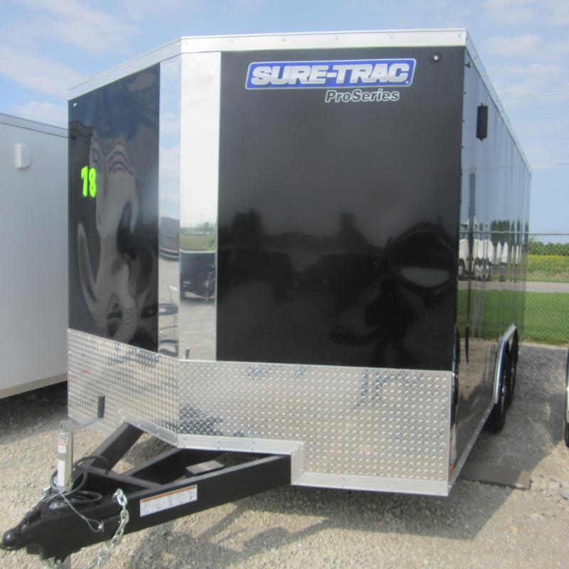 2019 Sure-Trac 8.5 x 16 Pro Series Wedge Cargo TA 10K