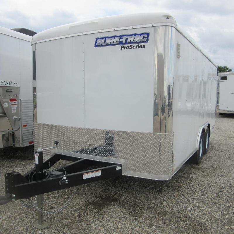 2017 Sure-Trac 8.5 x 16 Pro Series RT Cargo TA 10K